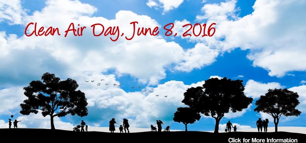 Clean Air Day 2016